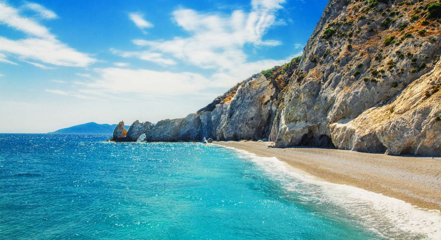 Must-visit Lalaria beach at Skiathos